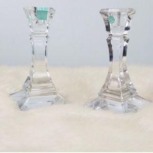 NWOT Tiffany & Co Candlestick Holders